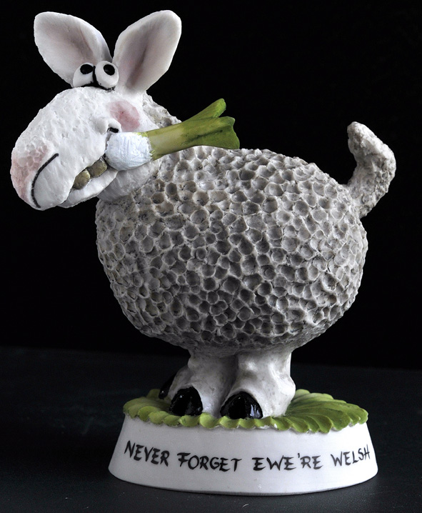 Sheep With Leek *Not Available 4 Xmas*