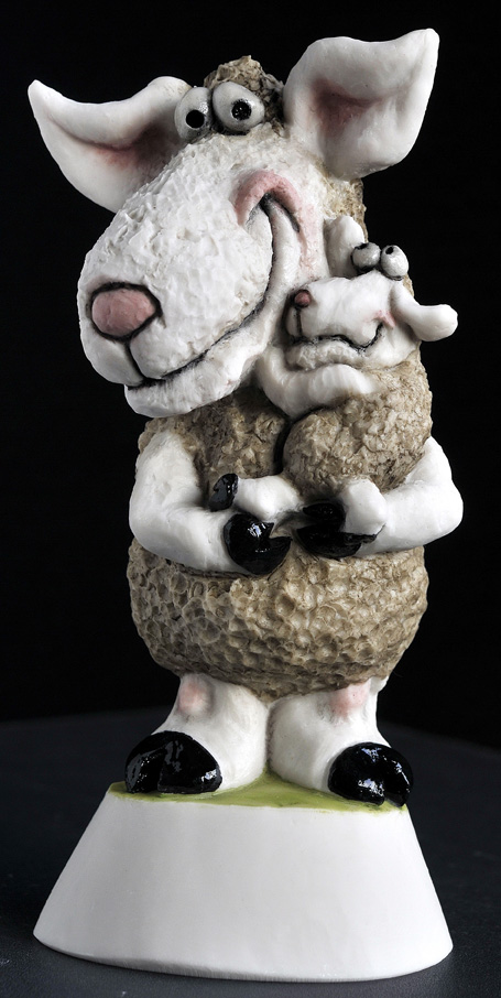 Mother + Baby Sheep *Not Available 4 Xmas*