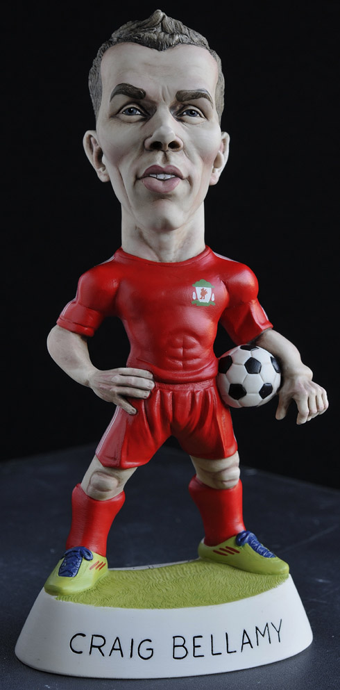 "9"" Liverpool Craig Bellamy"