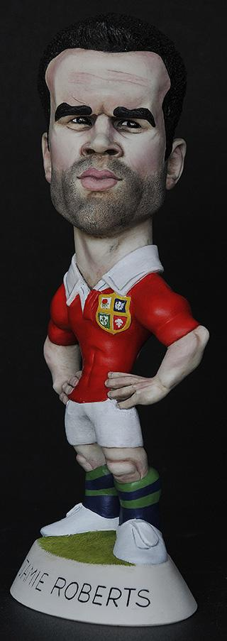 "9"" 2013 Lions Jamie Roberts *6-8 week delay*"
