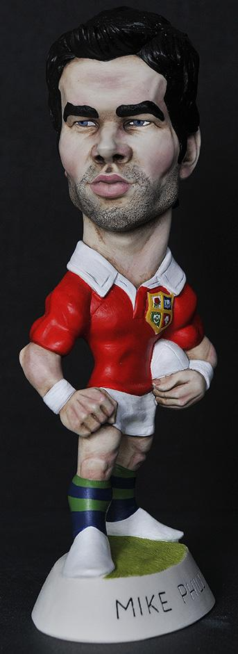 "9"" 2013 Lions Mike Phillips"