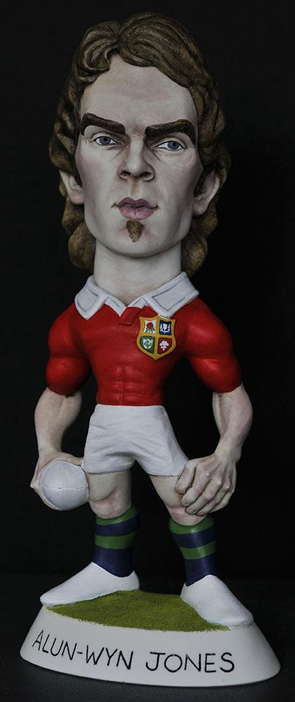 "9"" 2013 Lions Alun-Wyn Jones"