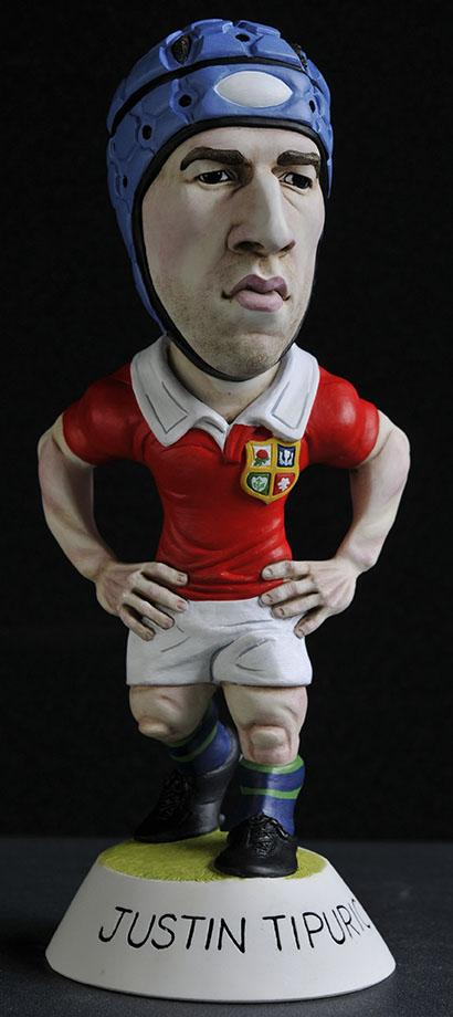 "9"" 2013 Lions Justin Tipuric"