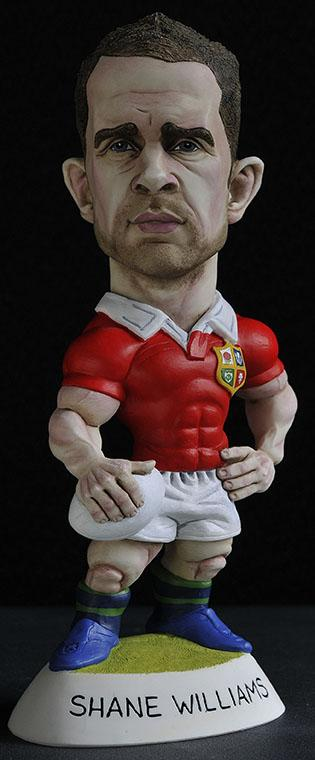 "9"" 2013 Lions Shane Williams *25 left*"