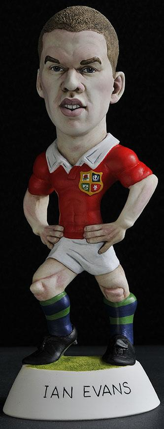 "9"" 2013 Lions Ian Evans *Not Available 4 Xmas*"