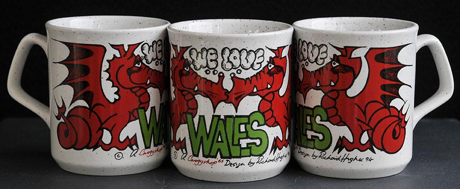 We Love Wales Dragon Mug