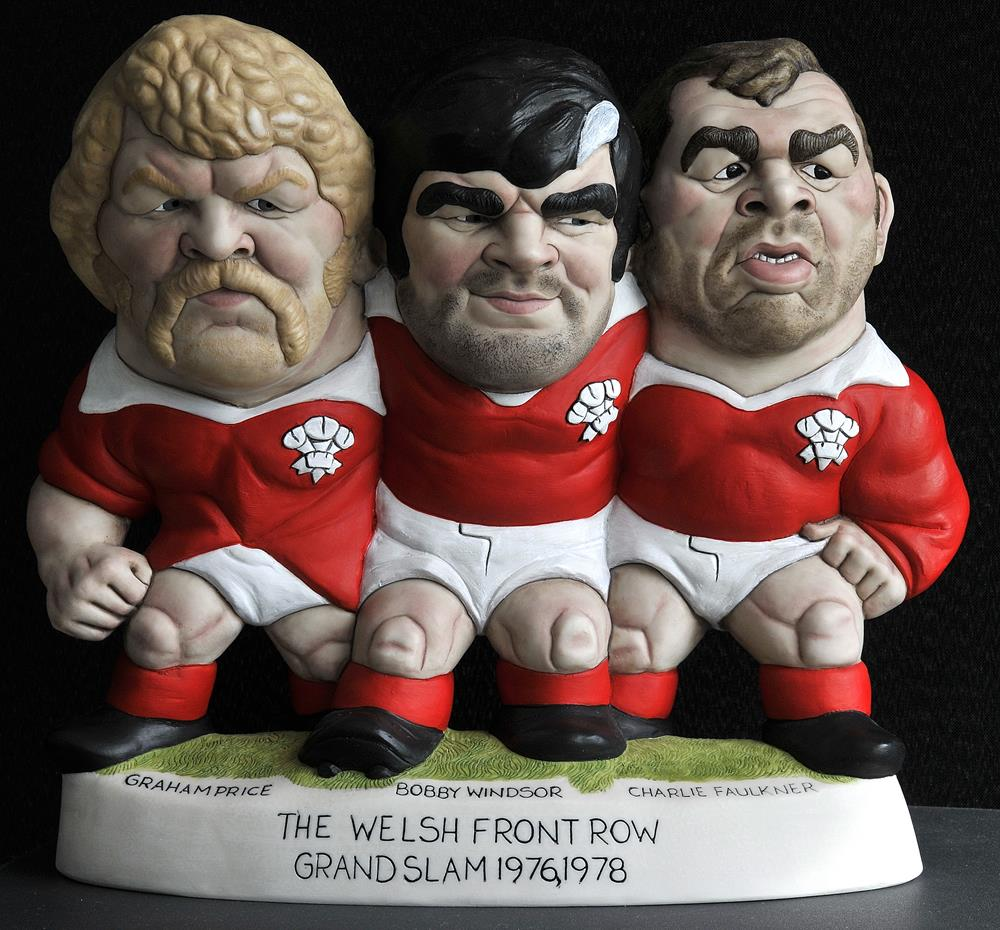 "9"" '76 '78 Welsh Front Row *18 left*"