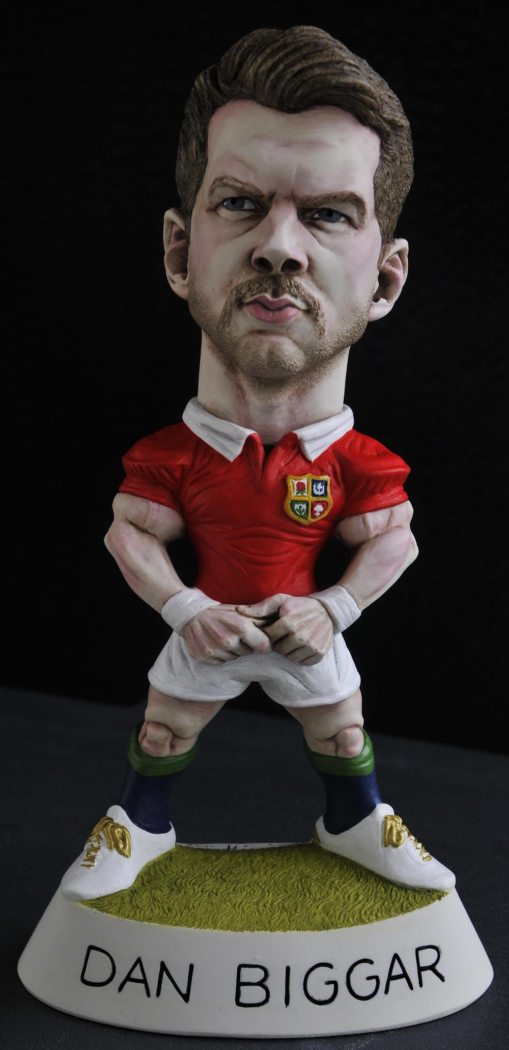 "9"" 2017 Lions Dan Biggar *6-8 week delay*"