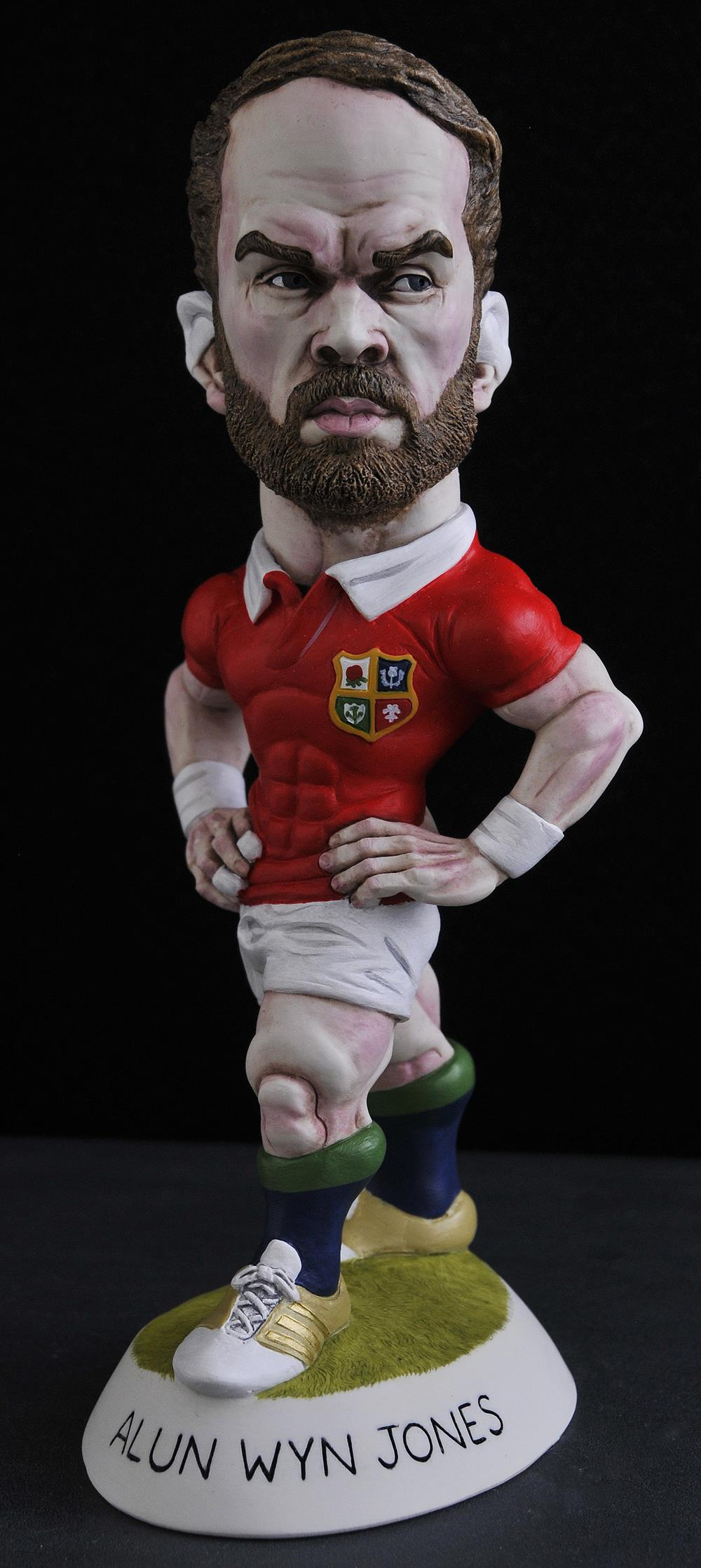 "9"" 2017 Lions Alun Wyn Jones"