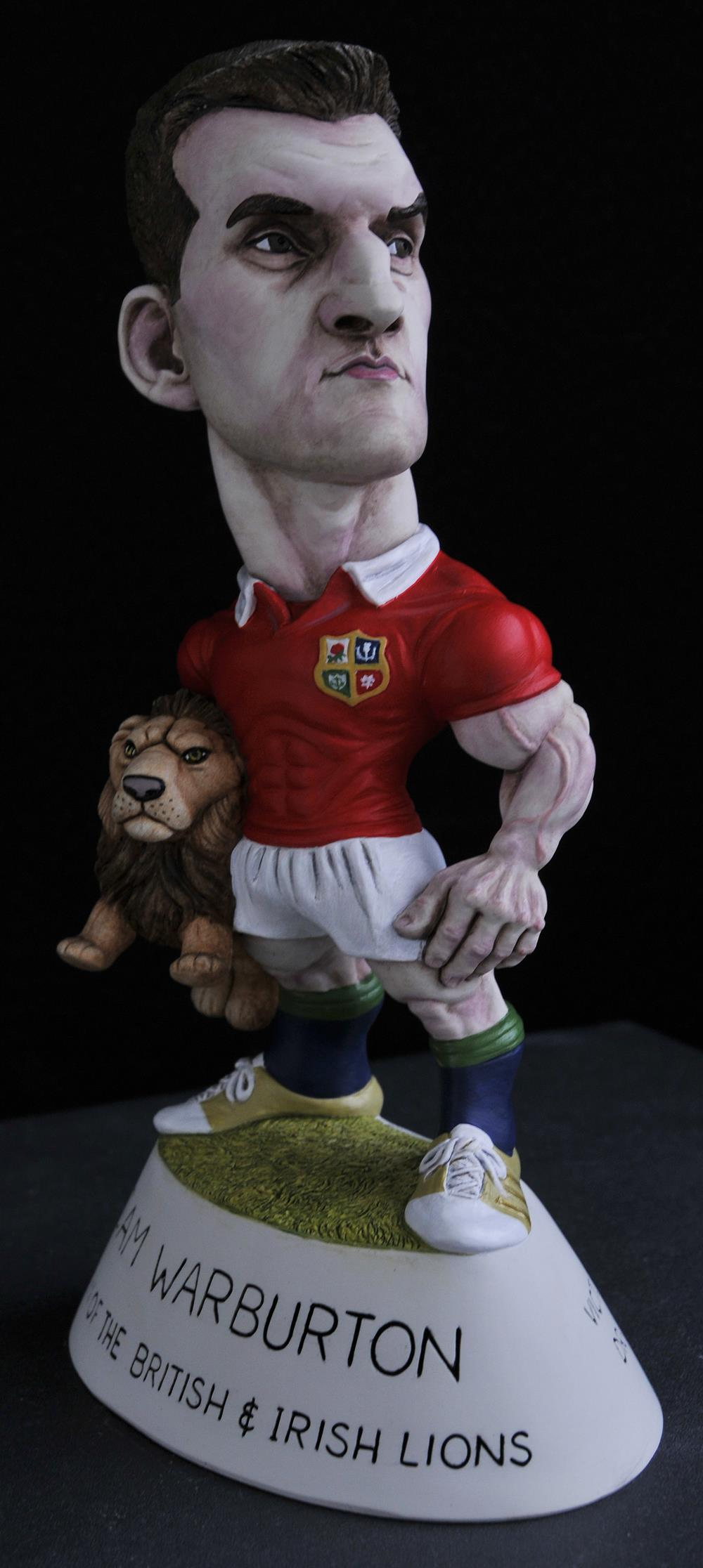 "9"" 2017 Lions Captain Sam Warburton"