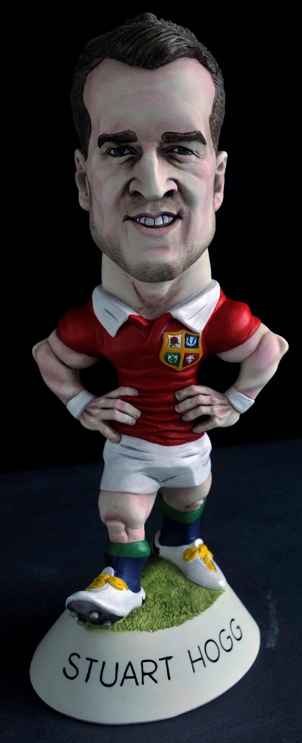 "9"" 2017 Lions Stuart Hogg *3-4 week delay*"