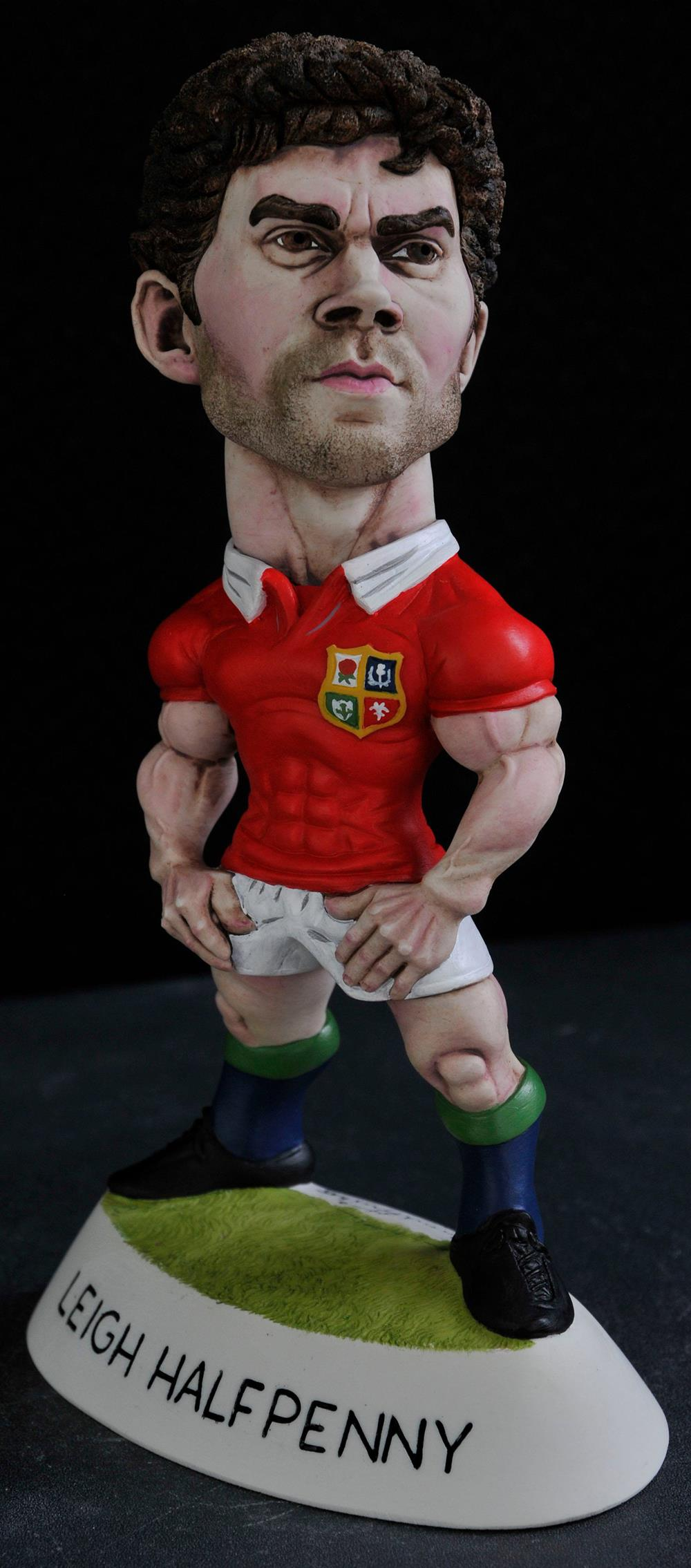 "9"" 2017 Lions Leigh Halfpenny"