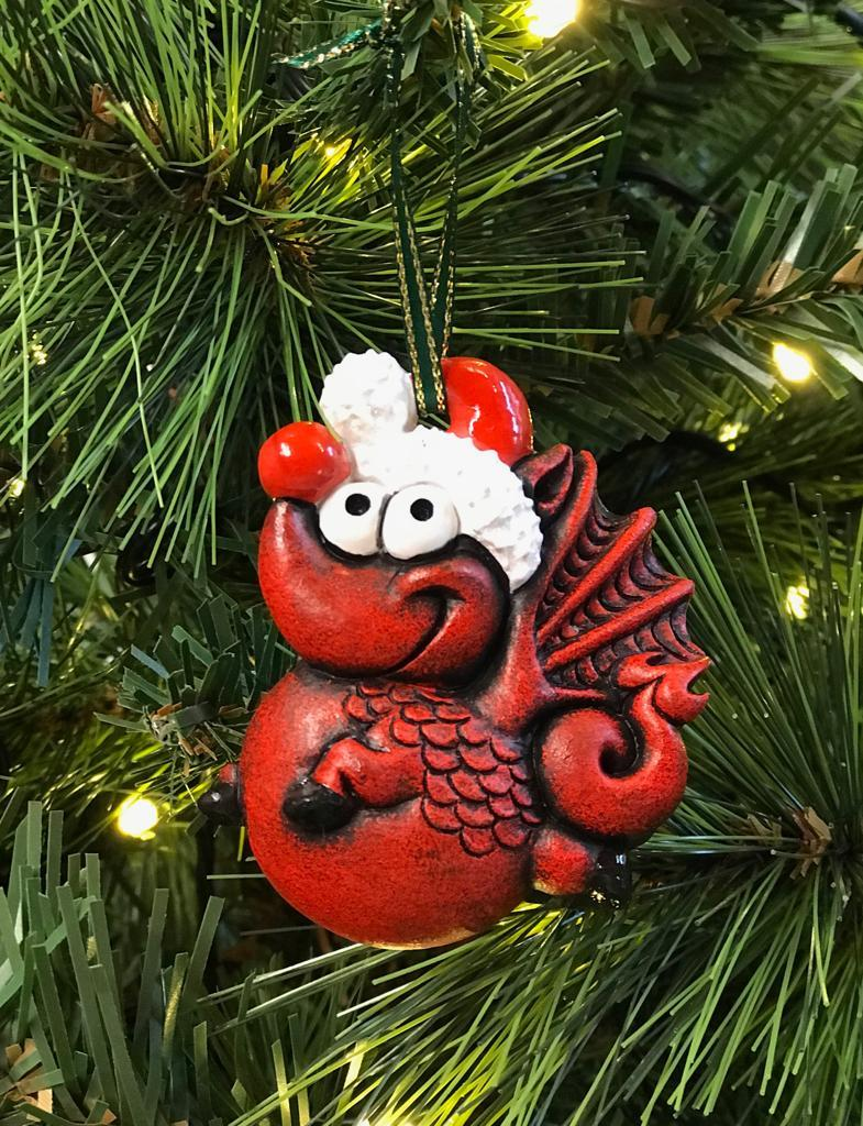 Dragon Christmas Decoration