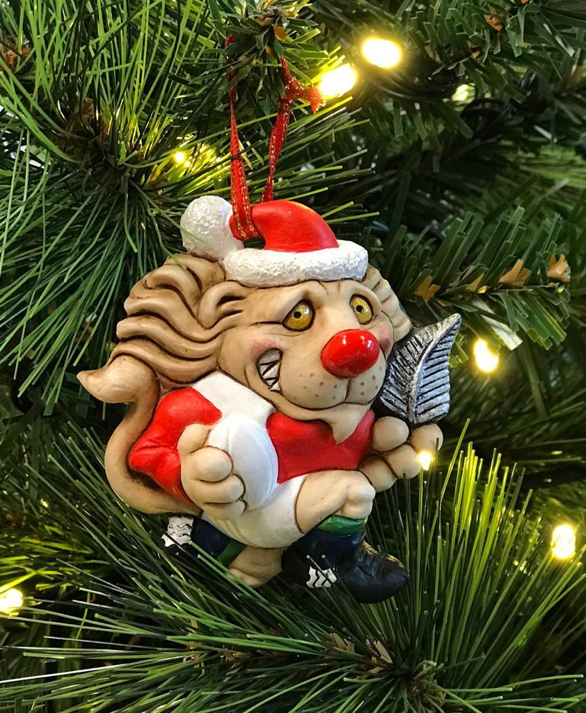 Lion Christmas Decoration