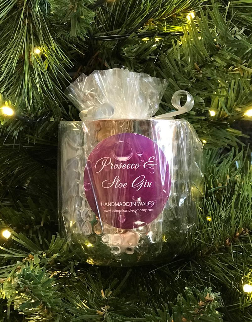 Christmas Quinnell Steel Candle (Scents Vary)