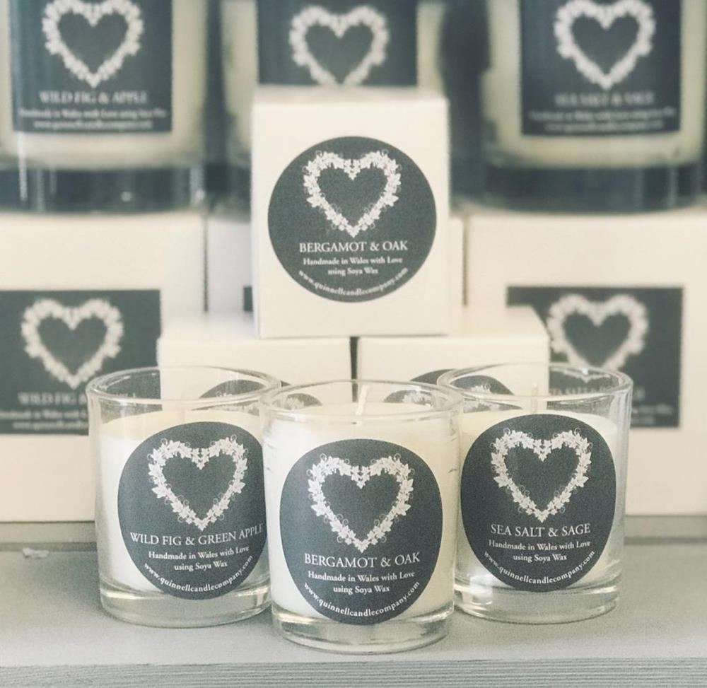 Quinnell Candle (Votive) - CHOICE OF AROMAS