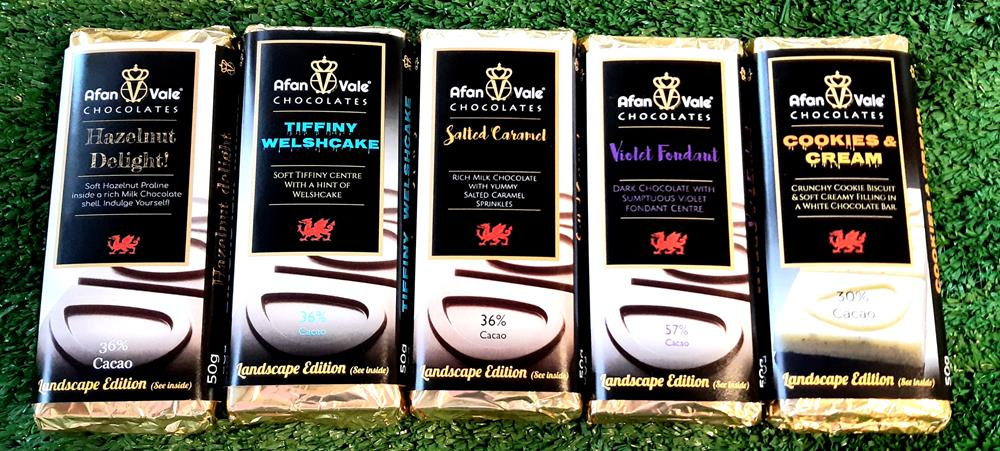 Afan Vale Chocolate *Flavour Choice*
