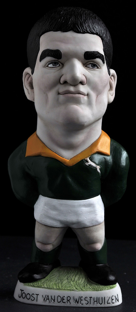 "9"" Joost Van-Der Westhuizen *Not Available 4 Xmas*"
