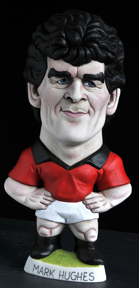 "9"" Man U Mark Hughes"